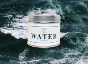 Water – Hand Made Candle